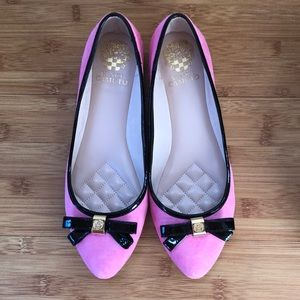 Vince Camuto TIMBA Pink Suede Flats